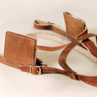 Donkey Leather Harness Bridle