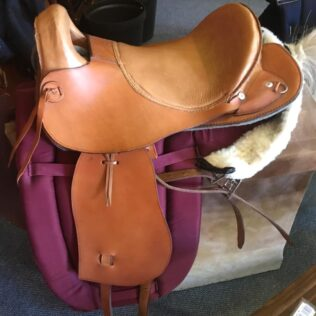 Farm Rider Leather Delux