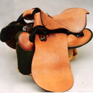 Fitted Military Saddle