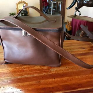 Leather Cooler Bag