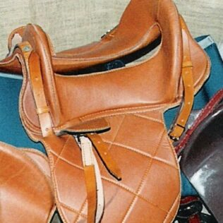 Mc Clellan Leather with Flaps