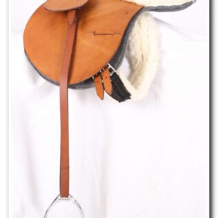 Sheepskin Saddle